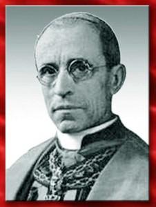 Eugenio Pacelli, futuro Papa Pio XII
