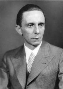 Joseph Goebbels, Ministro della Propaganda del Reich