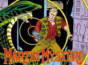 Un immagine di copertina di Martin Mystère