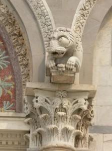 Gargoyle - chimera, duomo di Pisa