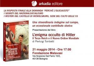 locandina Bologna 21 maggio 2014