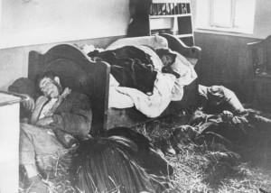Un'intera famiglia serba sterminata durante un raid Ustasha-1941