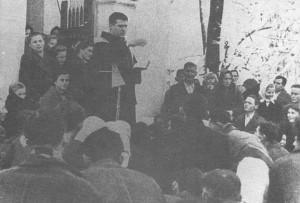 Conversioni forzate di serbi al cattolicesimo da parte di frati cattolici. L'alternativa era tortura la morte