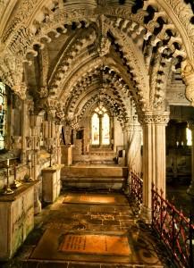 Gli straordinari interni della Cappella di Rosslyn