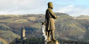 Statua di Robert Bruce - Stirling, Scozia