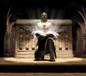 Templare con sindone