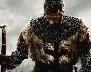 Templare durante una battaglia