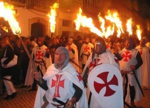 Tomar - Festa Templaria La processione dei Templari
