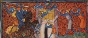 Un assedio durante la Prima Crociata
