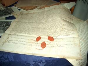 traduzione francese della pergamena di Chinon