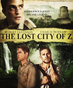 La locandina del film The Lost City of Z