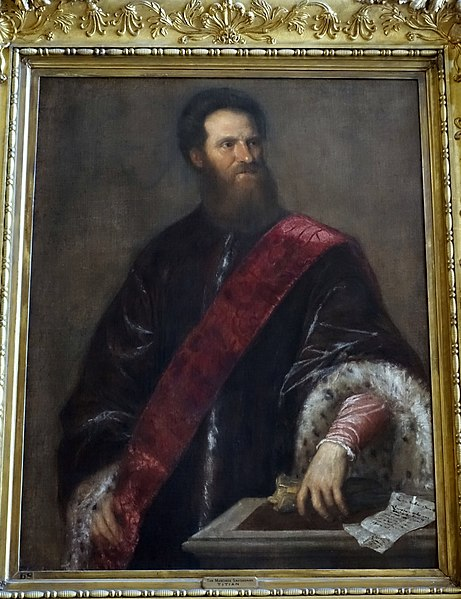 Nicolò Zeno the Younger by Titian, (1560-1565) Kingston Lacy, Dorset, England. (Public Domain)