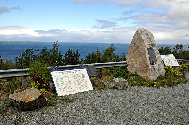 Guysborough, Nova Scotia: monument to the landing of Henry I Sinclair, Count of Orkney and Lord of Rosslyn (CC BY-SA 2.0)